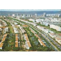 Bsb-22213 A- Postal Brasilia, D F- Vista Aerea Avenida W 3