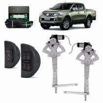 Kit Vidro Eletrico L200 Triton 4 Portas Dianteiro Sens