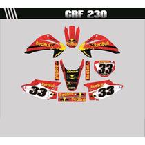 Adesivos Gráficos Personalizados Crf230 Cola 3m Importada