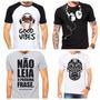 Kit Camisetas Masculinas Estampadas 10 Peças Atacado Revenda