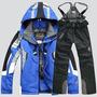Jaqueta E Calça Conjunto Neve Snowboard Ski Impermeável