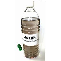 Resina Poliéster Flexível 1kg+catalisador - Molde Artesanato