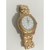Relógio Bulova Marine Star Calendário - Folheado A Ouro 18k