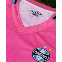 Camisa Grêmio Outubro Rosa 2018 Feminina Umbro Oficial à venda em ... 2ac0828348872