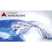 Autcad 2016 -32 & 64 Bits (sp1) Ingles E Portbr