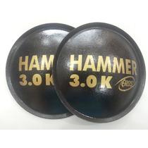2 - Calota Protetor Para Falante Eros Hammer 3.0k 135mm