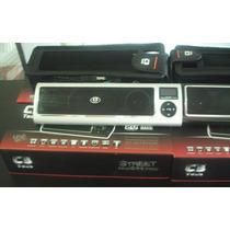 Caixa De Som Potente C3 Tech Street Midi-box 2.0 Cor Prata