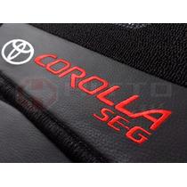 Tapete Carpete Personalizado Linha Premium 12mm Corolla Se-g