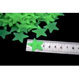 100 Estrelas Neon Fluorescentes Teto/parede Brilha Escuro