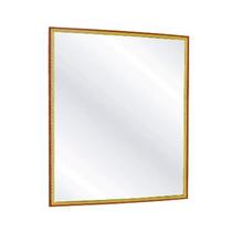 Espelho De Parede 20x25 Borda Madeira - Tucano Gold