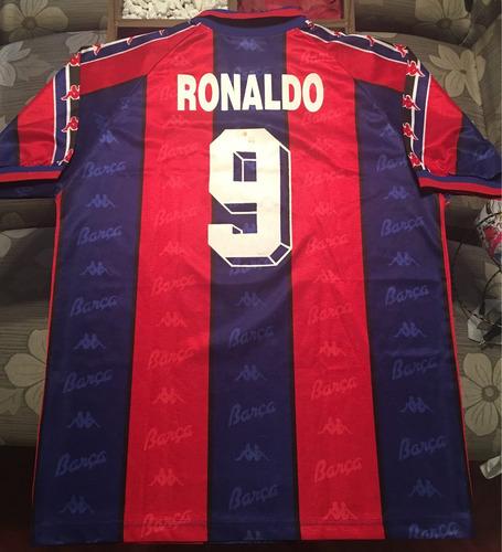 Camisa Barcelona 1996   Ronaldo Fenômeno 9 dc865e98e40be