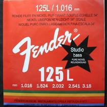 Encordoamento P/ Contrabaixo 5 Cordas- 0.40 -125 Fender