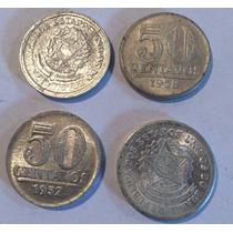 Moeda Antiga De 50 Centavos 1961