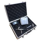 Kit Aerografo Mini Comp Ar + Aerógrafo 0,3mm + Maleta