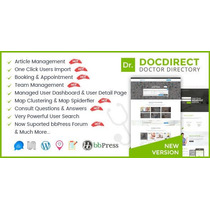Directory Docdirect 8.0 Responsive Wordpress Theme For Docto