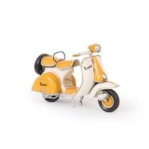 Miniatura Lambreta 1955 - 1958 Yellow Messerschmitt Em Ferro