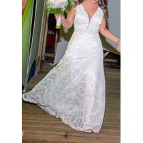 Vestido De Noiva+tiara+vestido Dama