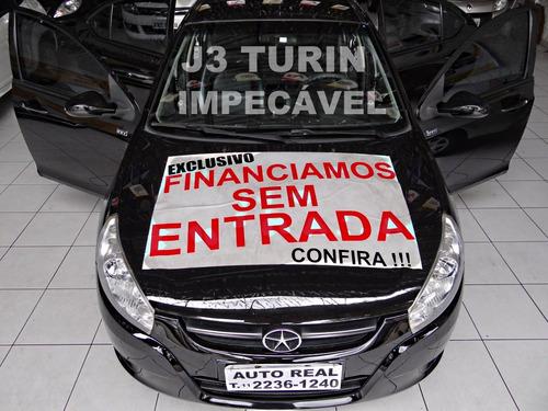 Jac J3 Turin 1.4 2012 / Impecável / Completo Com Couro