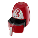 Fritadeira Sem Óleo Mondial Af-14 Family Vermelha 110v