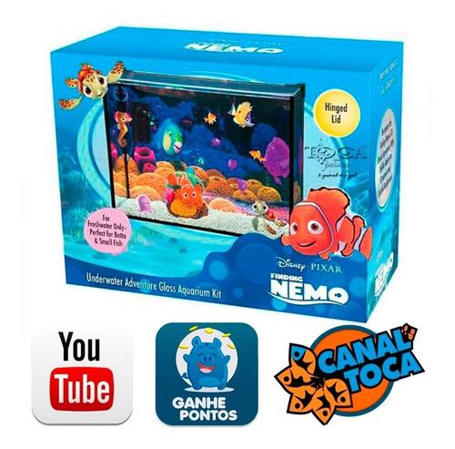 Aquário Procurando Nemo Nmk116 15l - Com Enfeites E Filtro
