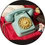 Quadro Personalizado Em Disco De Vinil, Vintage, Telefone