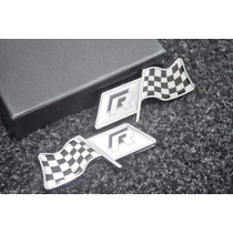 Emblema Vw Rline R Line Laterais Jetta Golf Amarok Gol Fox !