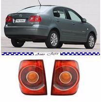 Lanterna Polo Sedan 2007 2008 2009 2010 2011 Nova Par