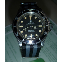 Rolex Submariner Modelo 5513 No Date Ano 1966 Original