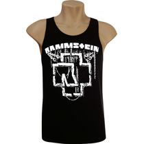 Camiseta Regata Masculina Rammstein Bandas Rock