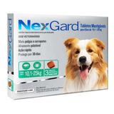 03 Nexgard 10 A 25 Kg - Melhor Remédio Contra Carrapatos!