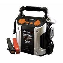 Auxiliar De Partida 300 Amp 600 Amps Bateria Led Fonte Show!
