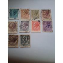 Selos Raros Da Itália, 1970, 10 Selos Por 2300,00