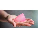 Kit 4 Copo Coletor Menstrual Ecológico + Saquinho