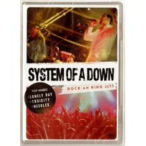System Of A Down Dvd Rock Am Ring 2011 Novo Frete R$ 7,10