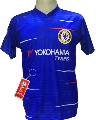 Camisa Chelsea Azul Branco Nova 2018 2019 eb541a23cc454