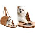 Bolsa De Transporte Luxo Para Cães E Gatos - Tamanho P