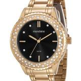 Relógio Mondaine Feminino Dourado - 99258lpmvde2