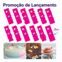 Kit Espátulas Decorativas Par Bolos De Chantilly 12 Peças Original