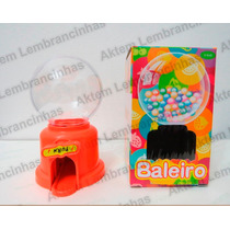Baleiro Candy Machine 10cm Todas As Cores - Kit 16 Unidades