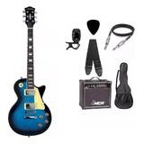 Kit Guitarra Strinberg Les Paul Lps230 + Caixa Amplificada