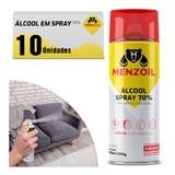 Álcool Em Spray 70% Aerossol 300ml 10 Unidades