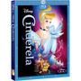 Blu-ray - Cinderela - Edição Diamante - Com Luva ( Lacrado )