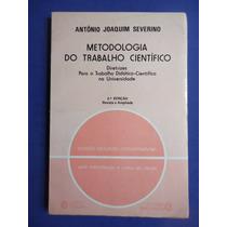 Livro - Metodologia Do Trabalho Cientifico - Antonio Joaquim