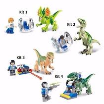 Kit 2 Pçs Mini-figuras Jurassic World Dinossauro Gary