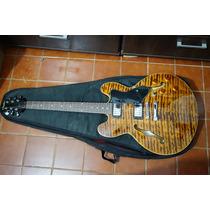 Guitarra Condor Semi Acustica Gh-504 + Bag Estado De Nova