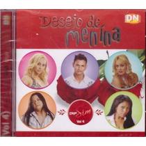 Cd Desejo De Menina - Diga Sim Vol 4 - Original E Lagrado