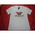 Camiseta Armani Exchance Branca M   Lances A Partir  R$ 1,