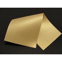 Papel Perolizado Ouro Nobre A4 - 180g/m2 Com 50 Folhas
