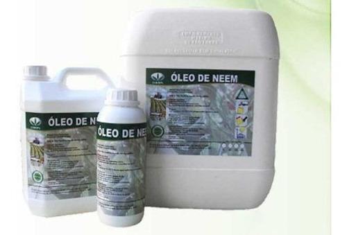 Óleo De Neem Puro Orgânico Inseticida 1 Litro + Brinde
