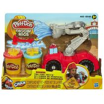 Massinha Play-doh Bombeiros Chuck E Friends A5418